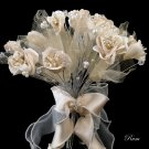 Bridal Wedding Bouquet ~ Rum