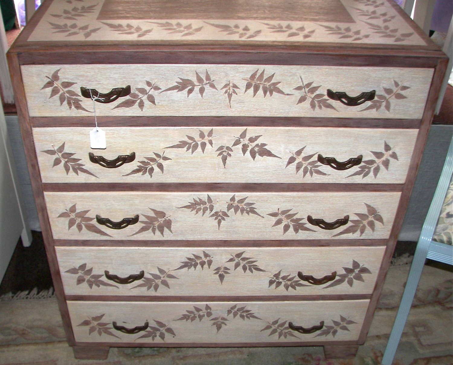 Vintage renovated chest of drawers