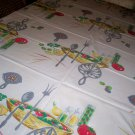 Wilendur vintage kitchen salad theme tablecloth