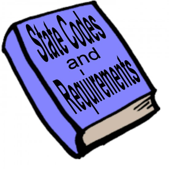All 50 States Concessionaires State Codes & Requirements Guide