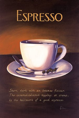 Espresso Recipes on CD