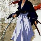 Rurouni Kenshin Himura Kenshin Cosplay Costume(blue)