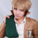 Free shipping Attack On Titan Jean Kirstein cosplay wig