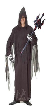 Free shipping Halloween Sickle Ghost Cosplay Costume