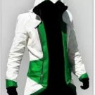 Assassin's Creed 3 Connor Kenway Cosplay Costume (Green)