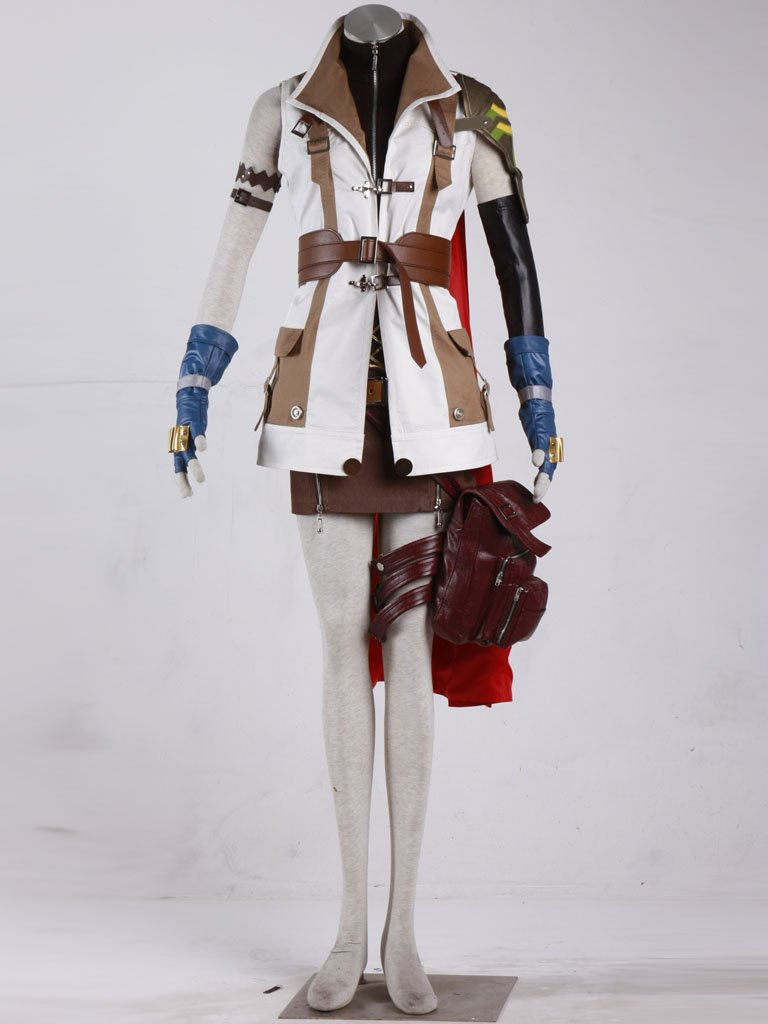 Custom made A Set Of Final Fantasy Lightning Cosplay Costume