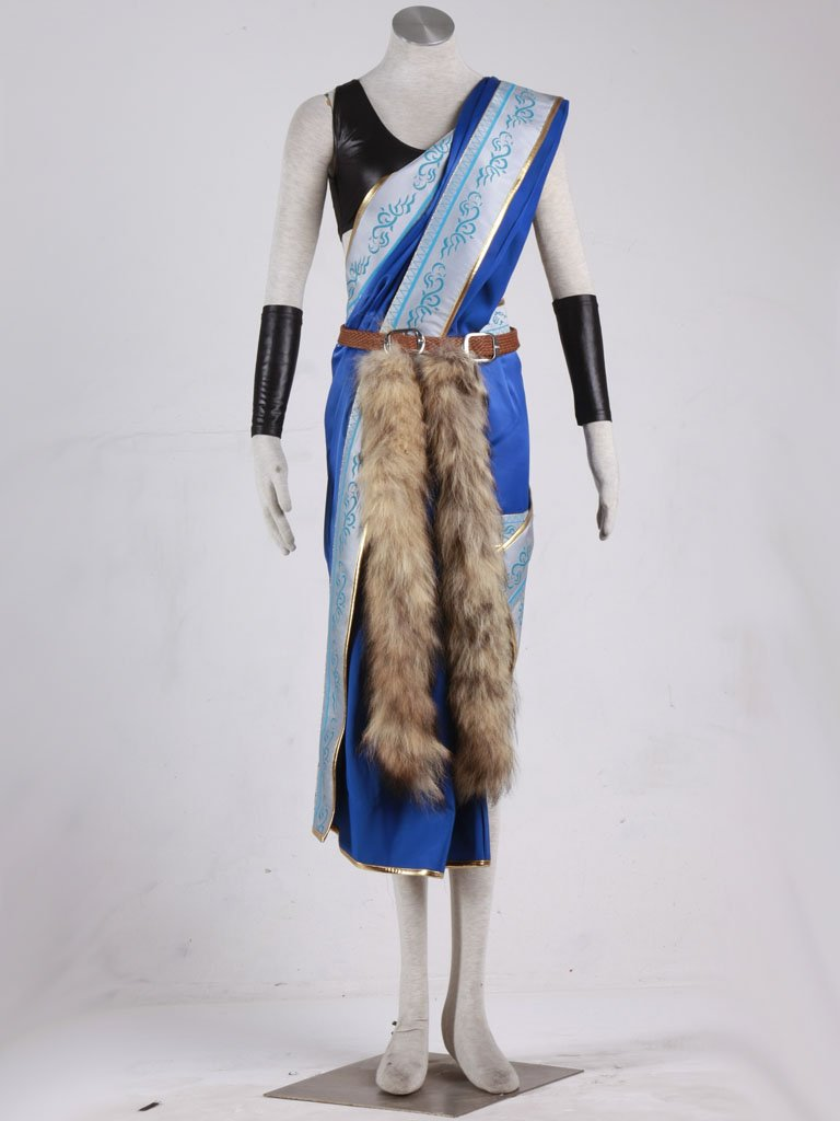 Custom made Final Fantasy Oerba Yun Fang Cosplay Costume