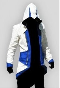 Assassin's Creed 3 Connor Kenway Suit Cosplay Costume (blue)