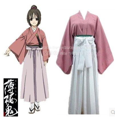 Hakuouki yukimura chiduru Cosplay Costume