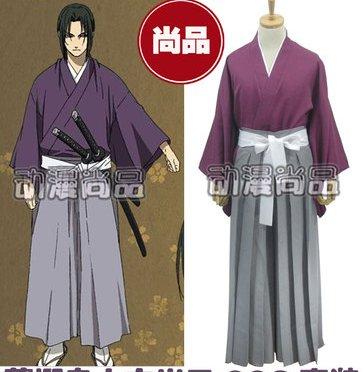 Hakuouki Hijikata Toshizo Cosplay Costume
