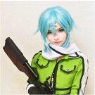 Sword Art Online Ⅱ Sinon Cosplay Wig