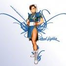Fast Shipping Street Fighter Chun Li Cosplay Costume (blue)