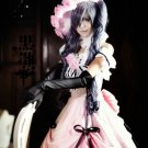 Custom made Black Butler Ciel Phantomhive female version Cosplay Costume