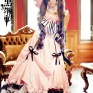 Fast Shipping Black Butler Ciel Phantomhive female version Cosplay Costume And Wig