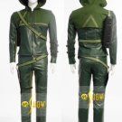 Custom made Green Arrow Oliver Queen Cosplay Costume