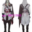 Assassin's Creed II Ezio Auditore da Firenze White Cosplay Costume
