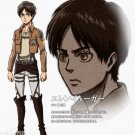 Custom made Attack on Titan Eren Jaeger  Levi Cosplay Costume