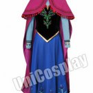A Set Of Frozen Anna Cosplay Costume