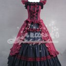 Red  Gothic Lolita dress
