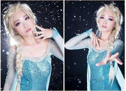Frozen Elsa Cosplay Wig