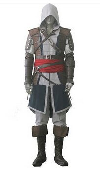 Assassin's Creed  Edward Kenway Cosplay Costume