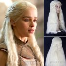 A Set Of Game of Thrones Daenerys Targaryen Cosplay costume