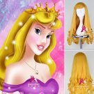 Sleeping Beauty Aurora Princess cosplay wig