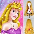 Sleeping Beauty Aurora Princess cosplay wig