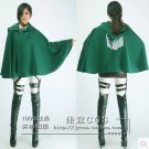 Custom made A Set Of Attack on Titan Mikasa Ackerman Cosplay Costume