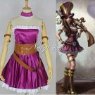 Custom made League of Legends Sheriff of Piltover Caitlyn Cosplay Costume