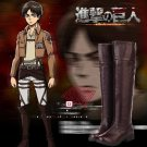 Attack on Titan Eren Jaeger Cosplay Boots
