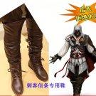 Assassin's Creed II Ezio Auditore da Firenze Female Cosplay Boots