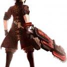 Custom Made God Eater Rindo Amemiya Cosplay Costume