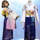 Custom made Final Fantasy X Yuna Cosplay Costume