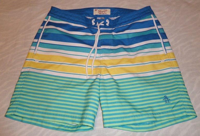 Penguin Mens Swim Shorts Size 32