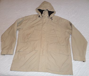 Gant Mens Double Jacket 2 in 1 Sport Parka Size XL