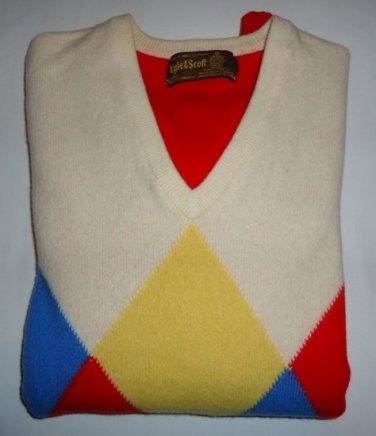 Lyle & Scott Womens Jumper Size 38