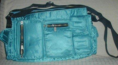 handbagbargains: Blue Multipocket PurseTeens & Tweens