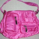 handbagbargains: Medium Satiny Pink Multipocket Purse