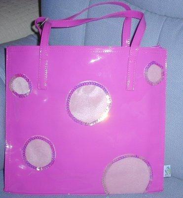 handbagbargains: Pink Dot Jelly Plastic Purse Handbag