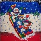 handbagbargains: Sledding Snowman Winter Bucket Hangbag Purse