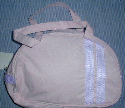 handbagbargains:Pink Cloth Purse Teen Handbag Purse