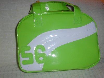 handbagbargains: Green and White Plastic Vinyl Teen Handbag Purse