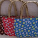 handbagbargains: Set of 3 Polka Dot Handbag Purse Tote