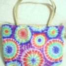 handbagbargains: Purple and Red Tye Dye Handbag Purse Tote Mini