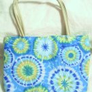handbagbargains: Blue Tye Dye Handbag Purse Tote Mini
