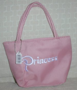 handbagbargains: Pink Princess Embroidered Purse