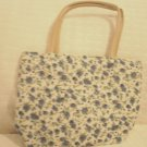 handbagbargins: White and Blue Flowered Purse