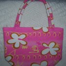 handbagbargains: Pink Flower Mini Purse
