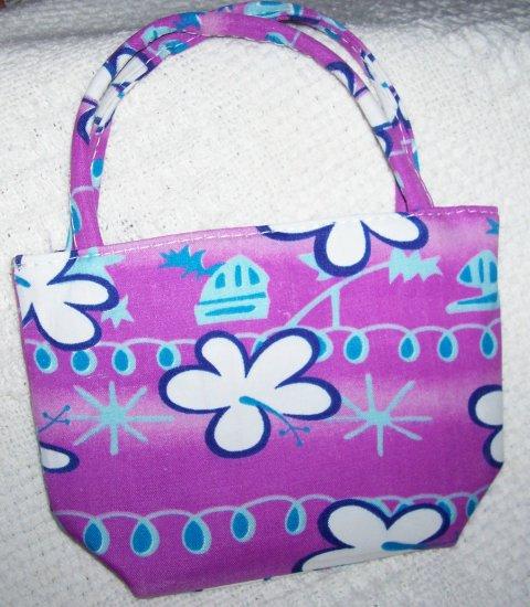 handbagbargains: Purple Flower Mini Purse